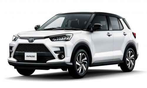 Toyota Raize miniature SUV revealed, debuts DNGA platform