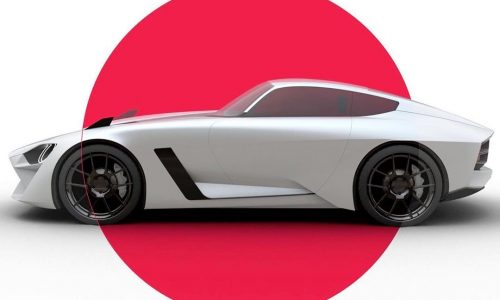 Next-gen Nissan Z car envisioned with Datsun 240Z inspiration