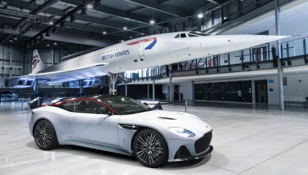 Aston Martin DBS Superleggera Concorde edition revealed