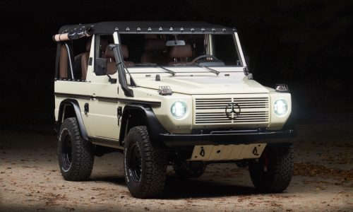 Expedition Motor completes ultra-cool Mercedes-Benz 250 GD restoration