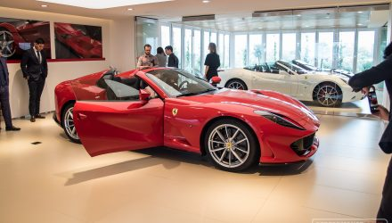 Ferrari 812 GTS makes Australian debut in Sydney