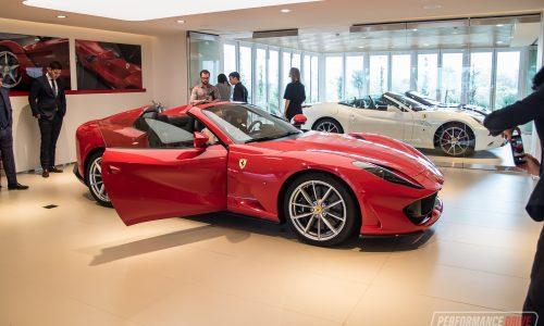 Ferrari 812 GTS makes Australian debut in Sydney