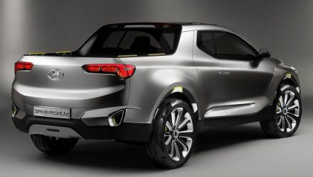 Hyundai Santa Cruz pickup/ute will be produced in the USA