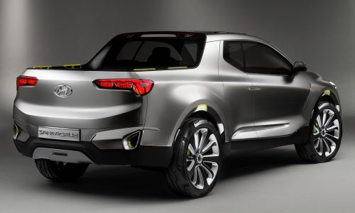 Hyundai Santa Cruz pickup/ute will be produced in the USA