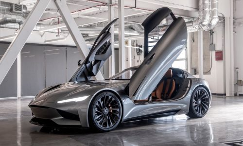 Karma SC2 concept debuts at LA show; 1100hp, 0-60mph in 1.9 seconds