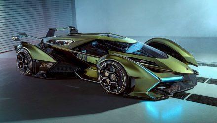 Spectacular Lamborghini V12 Vision GT concept revealed