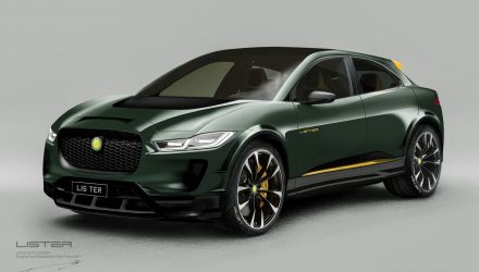 Lister SUV-E concept previews Jaguar I-PACE-based performance EV