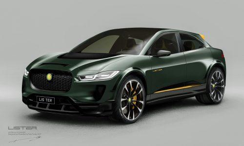 Lister SUV-E concept previews Jaguar I-PACE-based performance EV
