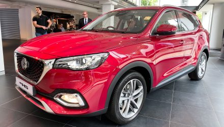 MG HS mid-size SUV debuts in Australia, priced from $29,990