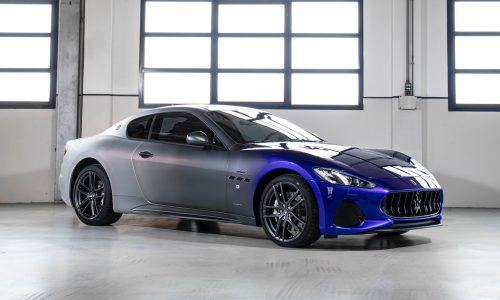 Maserati creates GranTurismo 'Zeda' as production ends