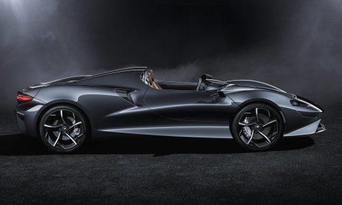 McLaren Elva revealed, new open-top Ultimate Series model