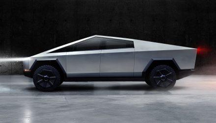Tesla Cybertruck unveiled; tri-motor, 800km-plus range