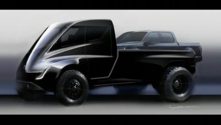 Tesla pickup truck reveal confirmed for November 21