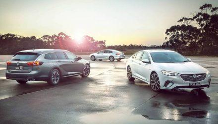 2018 Holden Commodore range