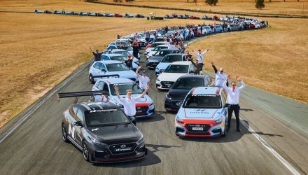 Hyundai Australia hosts first 'N Festival' at Wakefield Park Raceway (video)