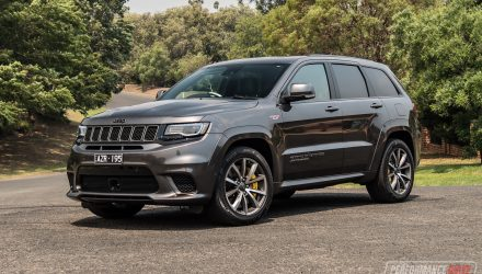 2019 Jeep Grand Cherokee Trackhawk review (video)