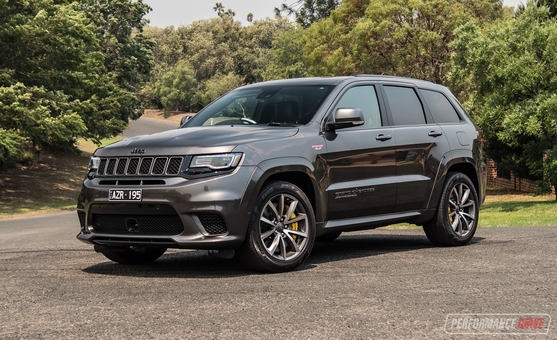 2019 Jeep Grand Cherokee Trackhawk Review Video Performancedrive