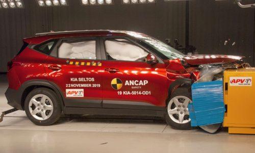 Kia Seltos scores 5-star ANCAP safety rating