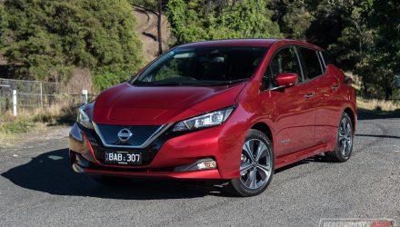 2019 Nissan LEAF-Australia