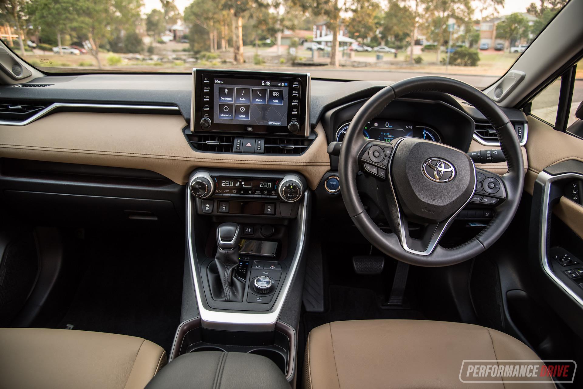 2019 Toyota Rav4 Cruiser Hybrid Awd Review Video Performancedrive