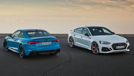 2020 Audi RS 5 Coupe and Sportback