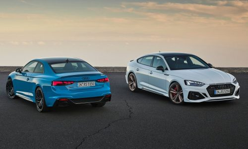 2020 Audi RS 5 Coupe and Sportback revealed