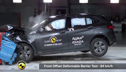 2020 BMW 1 Series scores 5-star ANCAP safety rating (video)