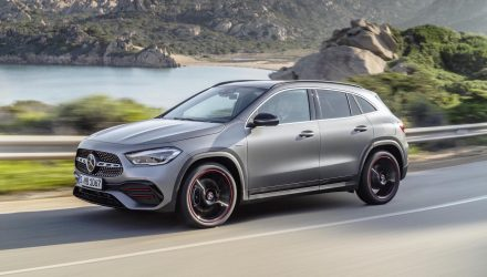 2020 Mercedes-Benz GLA unveiled, adds GLA 35 AMG variant