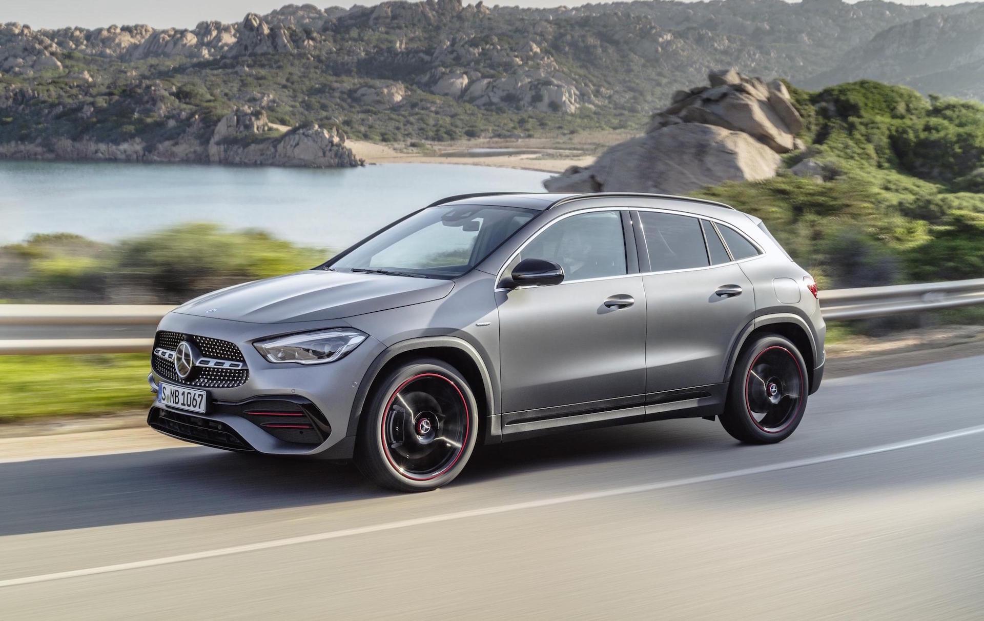 2020 Mercedes-Benz GLA unveiled, adds GLA 35 AMG variant