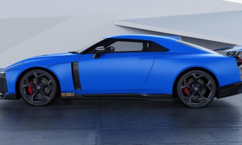 Nissan GT-R50 production version shown, deliveries start late-2020
