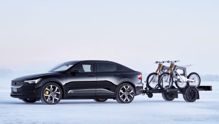 Polestar 2 offers class-leading 1500kg towing capacity
