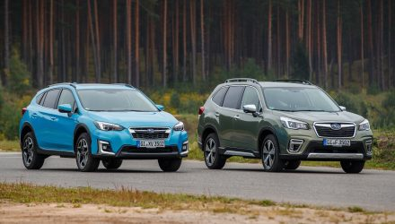 2020 Subaru XV Hybrid, Forester Hybrid on sale in Australia in March
