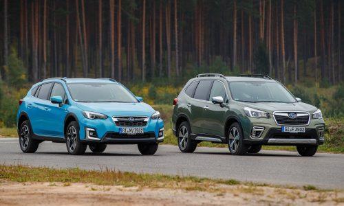 2020 Subaru XV Hybrid, Forester Hybrid on sale in Australia in March