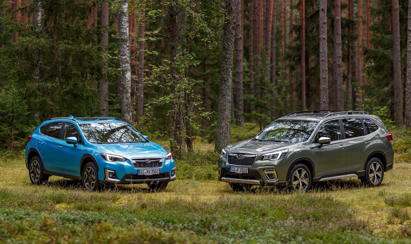 2020 Subaru Xv Hybrid Forester Hybrid On Sale In Australia In March Performancedrive