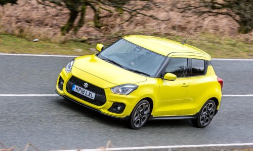 Hybrid Suzuki Swift Sport, S-Cross, Vitara confirmed for UK
