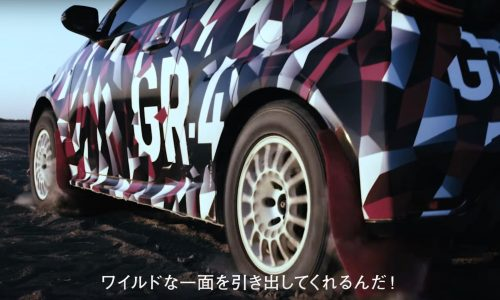 Toyota Yaris GR-4 previewed again, AWD confirmed (video)