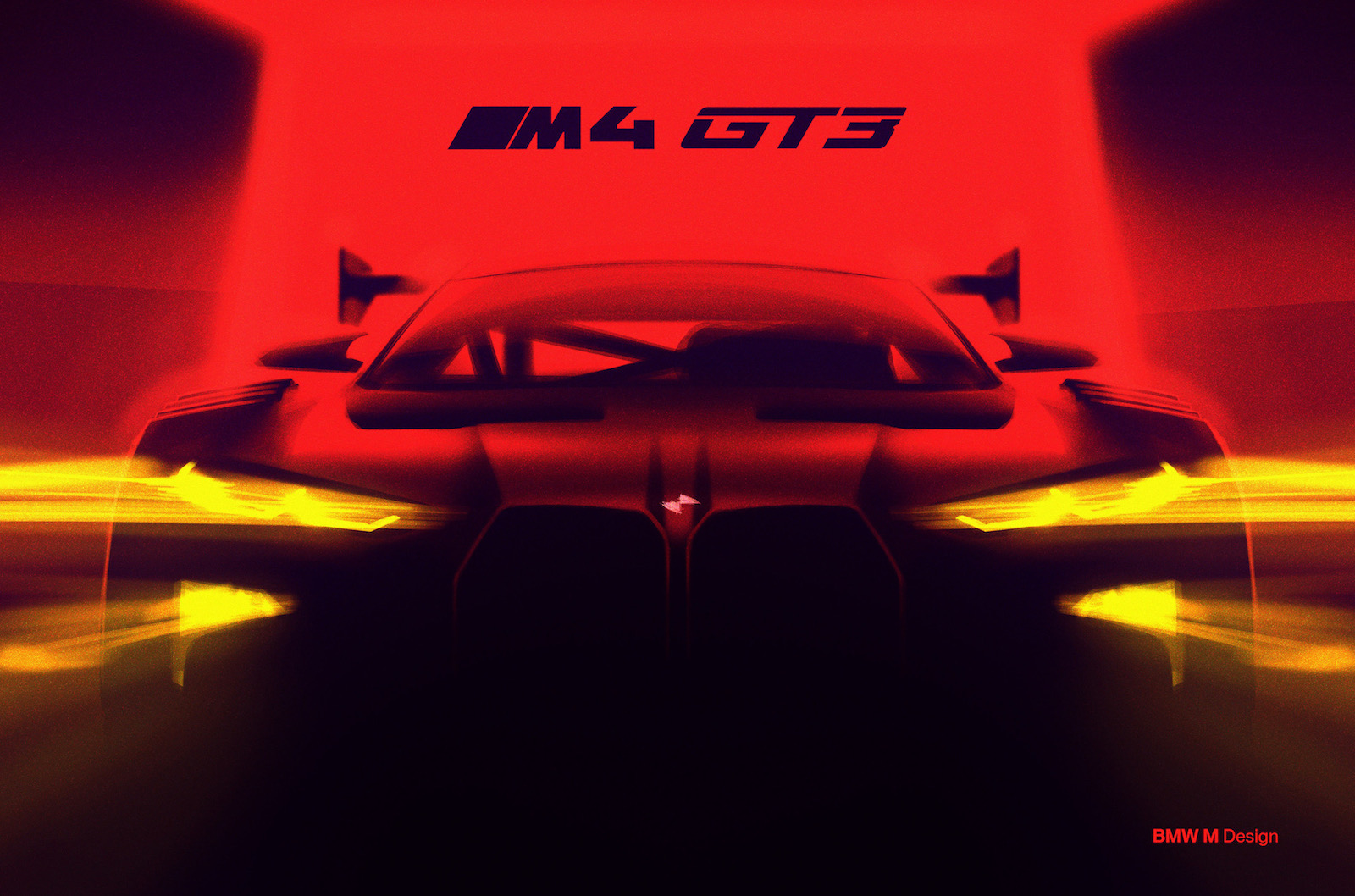 2021 bmw m4 previewed with m4 gt3 racing car