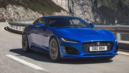 2021 Jaguar F-Type revealed; facelifted design, updated powertrains