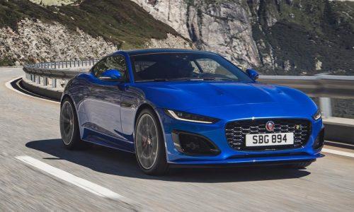 2021 Jaguar F-Type revealed; facelifted design, updated powertrains