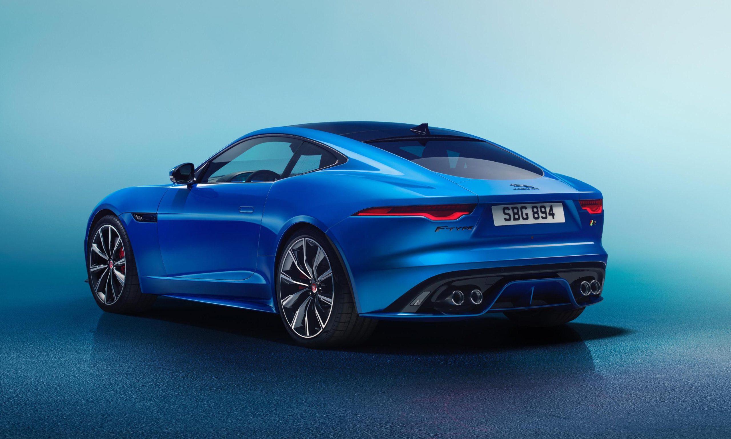 2021 jaguar ftype revealed facelifted design updated