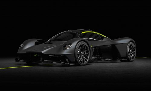 For Sale: Aston Martin Valkyrie with 100km on the clock