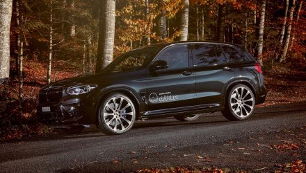 Dahler announces potent tune for BMW X3 M