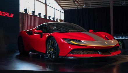 Ferrari SF90 debuts in Australia, priced from $846,888