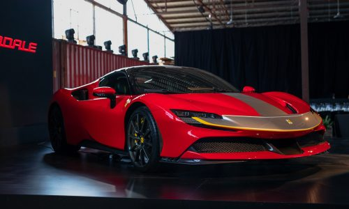 Ferrari SF90 debuts in Australia, priced from $846,888