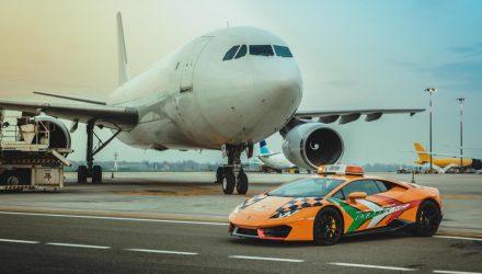 Lamborghini Huracan Follow Me Guglielmo Marconi Airport Bologna - 5