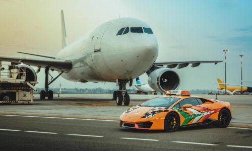 Bologna airport gets Lamborghini Huracan for taxiing aircraft