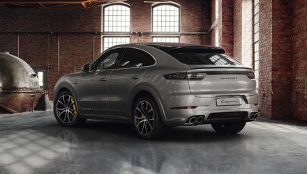 Porsche Exclusive enhances Cayenne Turbo S E-Hybrid Coupe