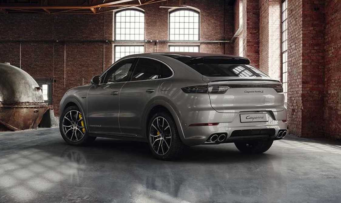 Porsche Exclusive Enhances Cayenne Turbo S E Hybrid Coupe Performancedrive