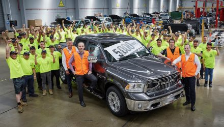 RAM Trucks Australian production passes 5000-unit milestone