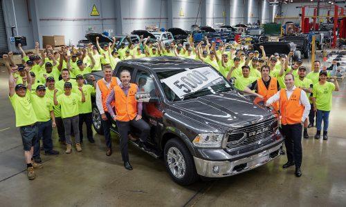 RAM Trucks Australian production passes 5000-unit milestone